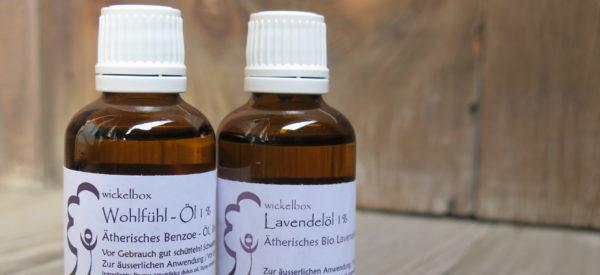 Lavendelöl und Wohlfühl-Öl