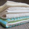 Wickeltextilien, Wickelband, Zwischentücher und Innentücher